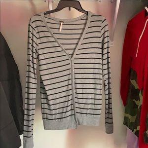 Sweaters - Patch Cardigan